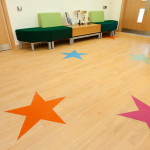 Schools and Nurseries Vinyl Flooring-1