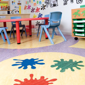 Schools and Nurseries Vinyl Flooring-2