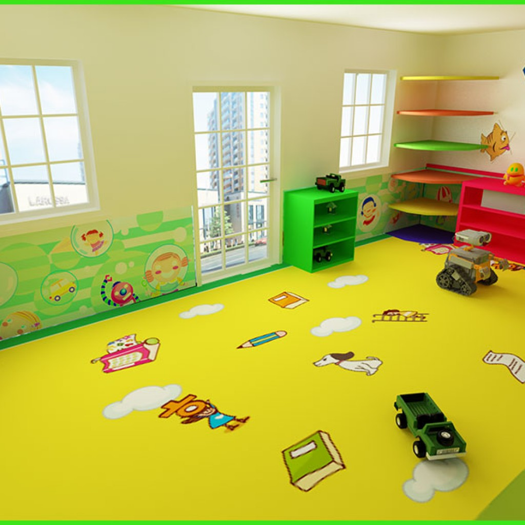Schools and Nurseries Vinyl Flooring-3