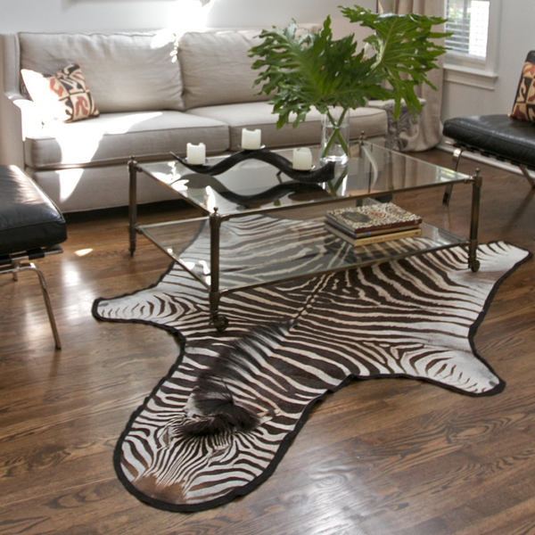 Buy Zebra Hide Rugs Abu Dhabi, Across UAE