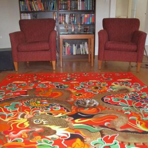 Hand Paint Rugs-4