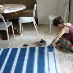 Hand Paint Rugs-5