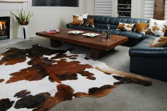 Bring royalty in your house with cowhides