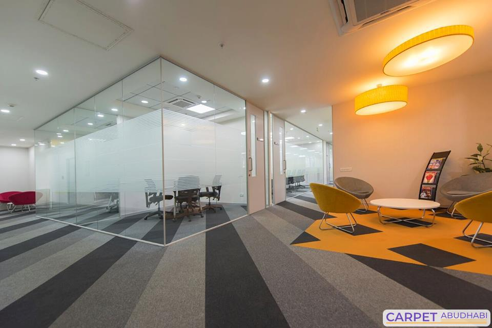 Office carpets and office carpets tiles